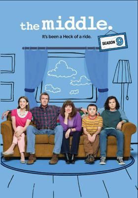 The Middle: The Complete Ninth Season 9 (DVD, 2018, 3-Disc Set)