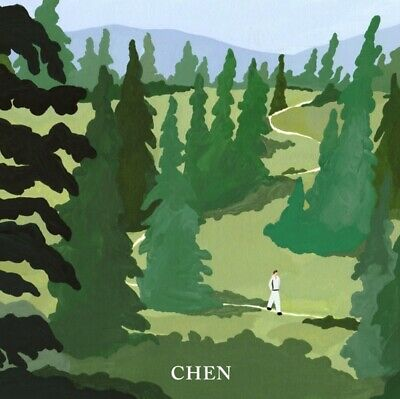 CHEN EXO 1st Mini Album [April, and a Flower] CD+Booklet+Card+Bookmark+F.Poster