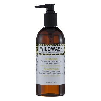 Wild Wash Sensitive Shampoo (for Puppies, Kittens & Cats) | Dogs, Cats