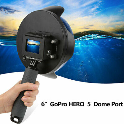 For GoPro Hero 7 6 5 Diving Dome Port Underwater Housing Lens Cover Accessory AU