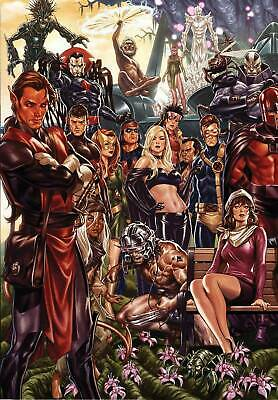 House Of X #1 1:500 Brooks Connecting Virgin Variant (2019) Vf/Nm Marvel