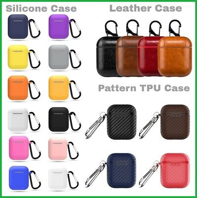 For Apple Air Pod AirPods Accessories Case Protective Silicone Cover Skin Strap