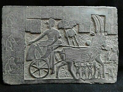 EGYPTIAN ANTIQUES ANTIQUITY Ramses II After Victory Stela Stele 1244-1274 BC
