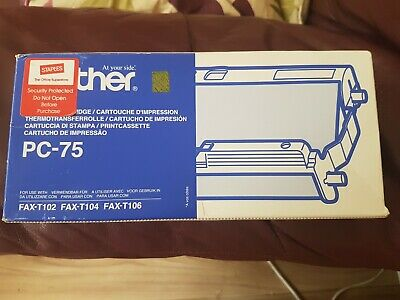 4 Faxrollen Für Brother Fax T76 T104 PC-74RF Ink FIlm KMP kompatible T102