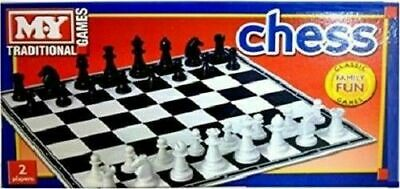 MY Traditional Games Chess Classic Family Fun Games 2 Players New New