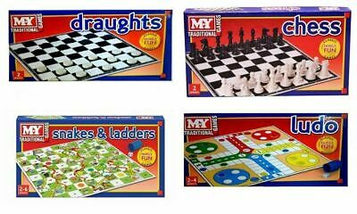 Traditional Board Games Family Fun Party Classic Kid Child Full Size Party Toy N