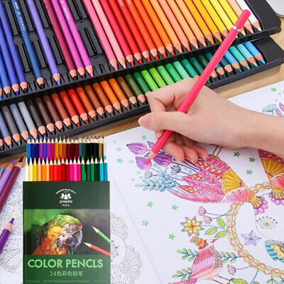 1EDA Wooden Colored Pencil Set Drawing Pencil Set Crayons Art Supplies