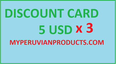 ayahuasca, chacruna, get a discount card for purchases at myperuvianproducts