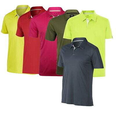 Oakley Mens Divisional Polo Golf Shirt - Pick Color and Size