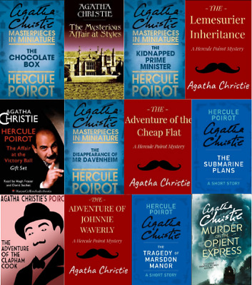 Agatha Christie - Chronological Poirot - 85 Audiobooks Collection (MP3)