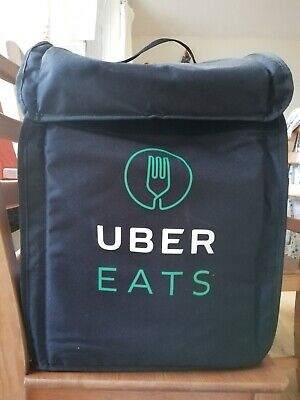 UBER EAT DELIVERY Large Backpack for  Bicycle OR Motorbike