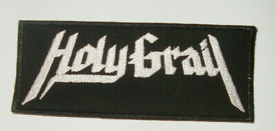 Holy Grail Embroidered PATCH White Wizzard Enforcer Cauldron Skull Fist Striker