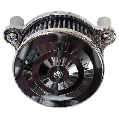 Max Current Air Cleaner - Twin Cam - Chrome