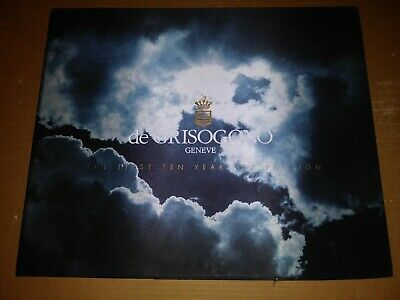 de GRISOGONO GENEVE The First Ten Years of Passion Jewelry Book