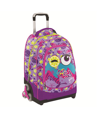 Sj Gang Trolley 3 Wheels Facce Da Sj Girl Viola
