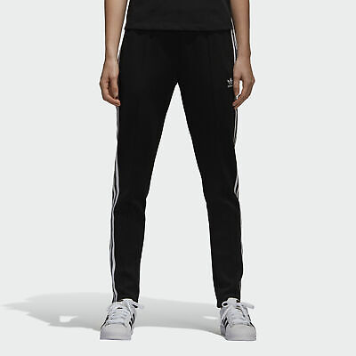 c6e0655739480 ADIDAS ORIGINALS WOMEN'S Athletic Sportswear Track Pants Black/White ...