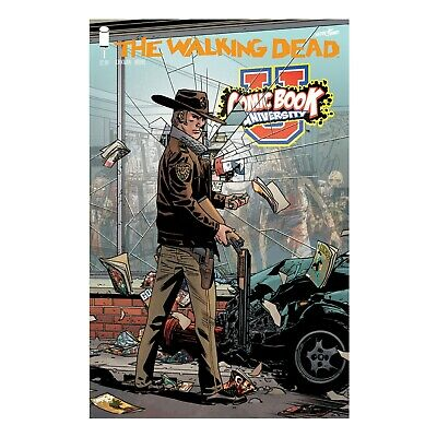 The Walking Dead #1 15th Anniversary COMIC BOOK UNIVERSITY Variant Store Cover