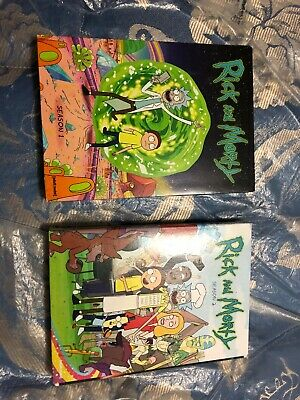 Adult Swim Rick and Morty First (1st) & Second (2nd) Season (4 DVD Set)