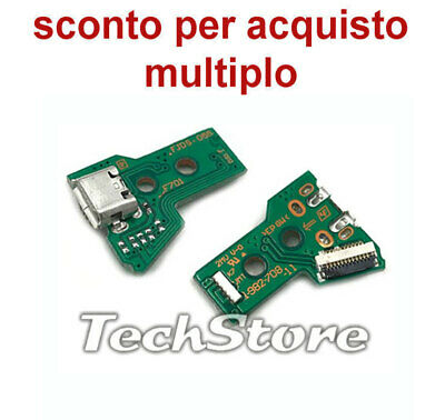 N.1 Scheda JDS-055 050 con micro USB  Controller Sony PlayStation PS4 - JDS055