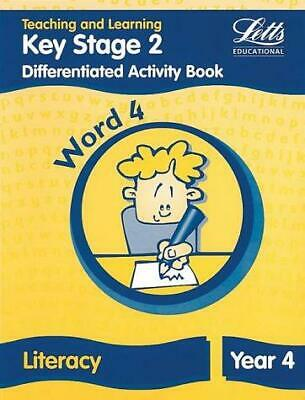 Letts Primary Activity Books for Schools - KS2 Literacy Differentiated Activity