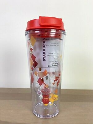 Starbucks Chinese New Year Tumbler Small World Happy Monkey 2015