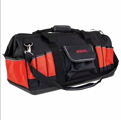 AMTECH 600mm 24in Hard Base Tool Hold-All Carry Storage Multi Pocket Bag 35 pkt