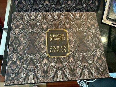 **Box Only** Urban Decay Game Of Thrones Vault With Sleeve **Box Only**Sold Out
