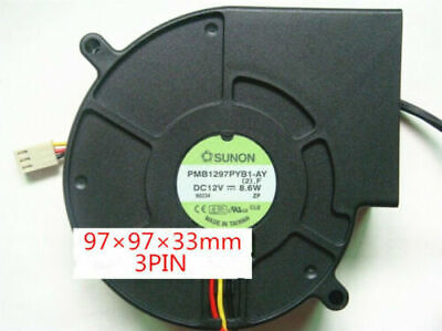 for SUNON PSD12E0PMB1-8A 43.20W 12V 4-Wire 14CM Cooling Fan