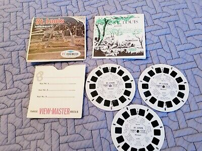 Vintage Sawyers Viewmaster A 453 St Louis Missouri Reels