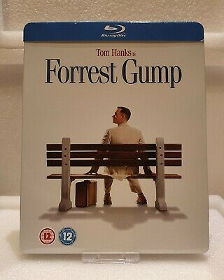 Forrest Gump (Blu-ray SteelBook) (Play Exclusive) [UK] - Import audio ITA