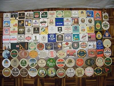 Lotto Sottobicchieri Vintage Beer Mats Coasters