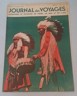 Journal of Voyages No No 26 Jeudi 22 August 1946