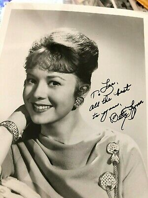 Betty Lynn Andy Griffith Show Thelma Lou Tv Show Actor Autograph Signed Photo