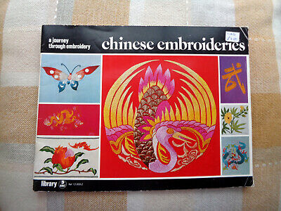 D.M.C. Library : CHINESE EMBROIDERIES PB Book