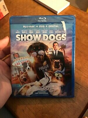 Show Dogs (Blu Ray + DVD + Digital) Factory Sealed  Will Arnett Shaquille O'Neal