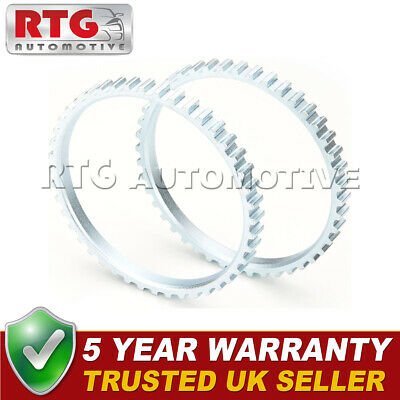 15mm Wide *FREE RETAINER Renault Grand Espace ABS Reluctor Ring 2002-/> Front