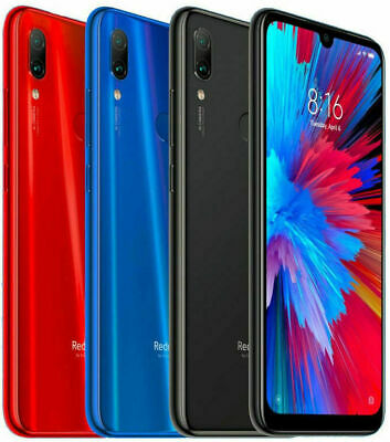"Xiaomi Redmi Note 7 (32GB, 3GB) 6.3"" Dual SIM GSM Unlocked (Global 4G LTE) USED"