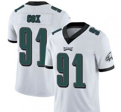 519ae9aa NWT FLETCHER COX #91 Philadelphia Eagles Game All Stitched Jersey ...