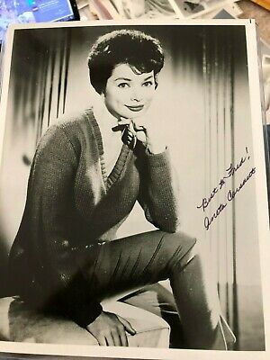 Aneta Corsaut Andy Griffith Show Helen Crump Tv Actor Autograph Signed Photo