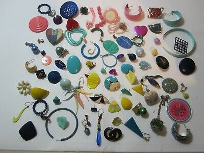 Jewelry Women's JUNK DRAWER Bits and Pieces a Little of Everything Colored Lot 4