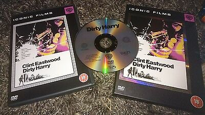 Dirty Harry (DVD, 2005)  Iconic Films Edition    Clint Eastwood