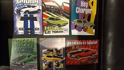 1:18 Biante Autoart Brochure Various Models Holden Ford Charger