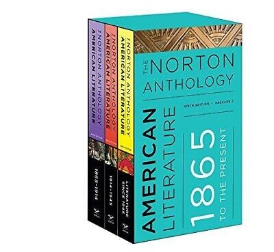 Norton Anthology of American Literature: 1865 To The Present Vol 2 (ebook)