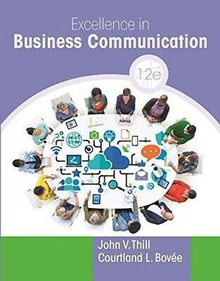 Excellence in Business Communication 12th Edition (ebook PDF Format)