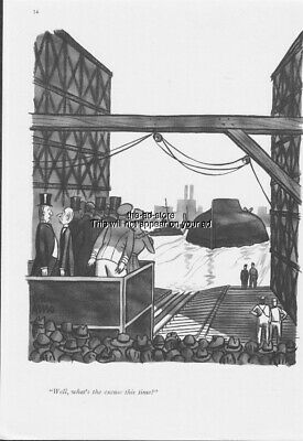 1939 Ship Launch Capsized Your Excuse Peter Arno Art The New Yorker Cartoon