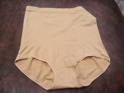 JKY by Jockey Womens high waist nude sz lg 61683 slimming new nwot