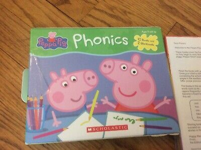 Peppa Pig Childrens Books Phonics Learn to Read Gift Set Lot 12 FREE SHIPPING