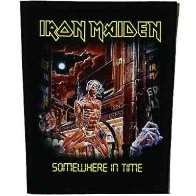 Iron Maiden Somewhere In Time Jacket Back Patch Official Heavy Metal Backpatch