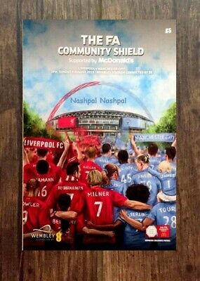 FA Community Shield 2019 Liverpool v Manchester City (Man City) 04/08/19 August