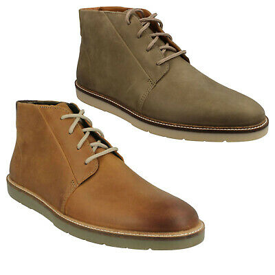 MONTACUTE DUKE MENS CLARKS LACE UP LEATHER CASUAL ANKLE DESERT WINTER BOOTS SIZE